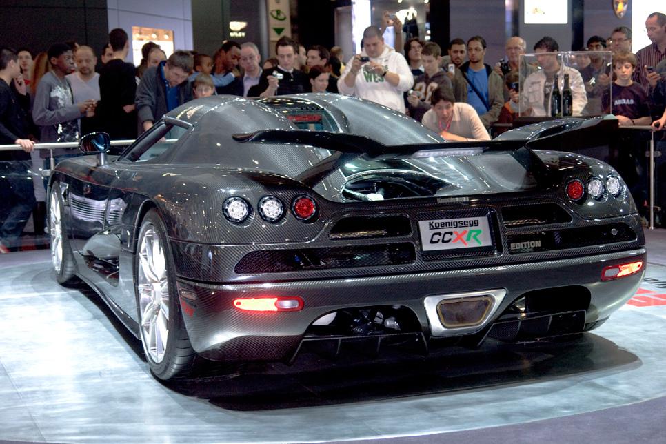 Los diez coches más rapidos de la historia