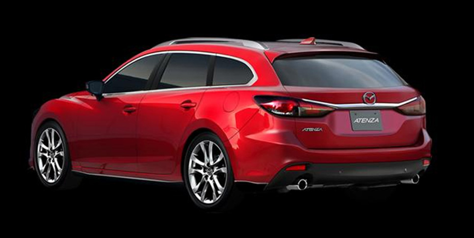 Mazda Atenza Station Wagon Design