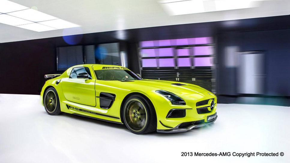 Mercedes SLS AMG Black Series hecho a medida