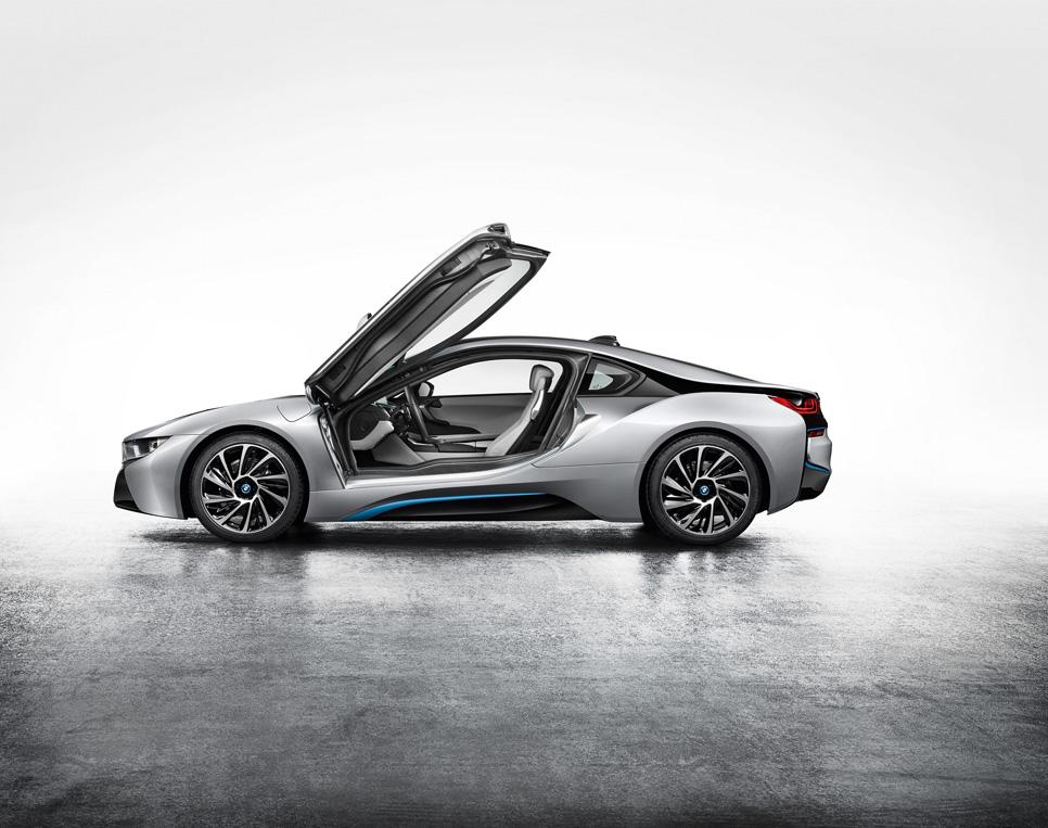 Precio del BMW i8, desde 129.900 euros