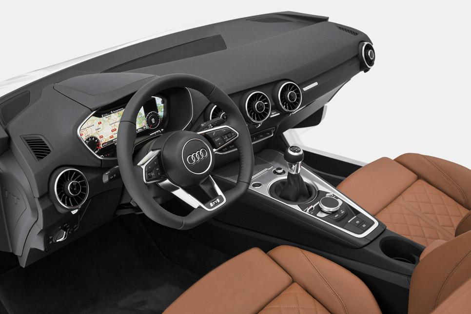 Así será el habitáculo del nuevo Audi TT