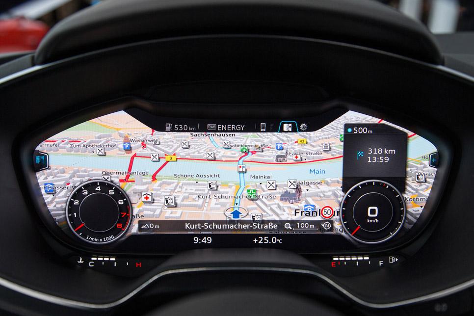 Interior del nuevo Audi TT