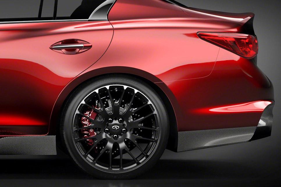 Infiniti Q50 Eau Rouge Performance Concept