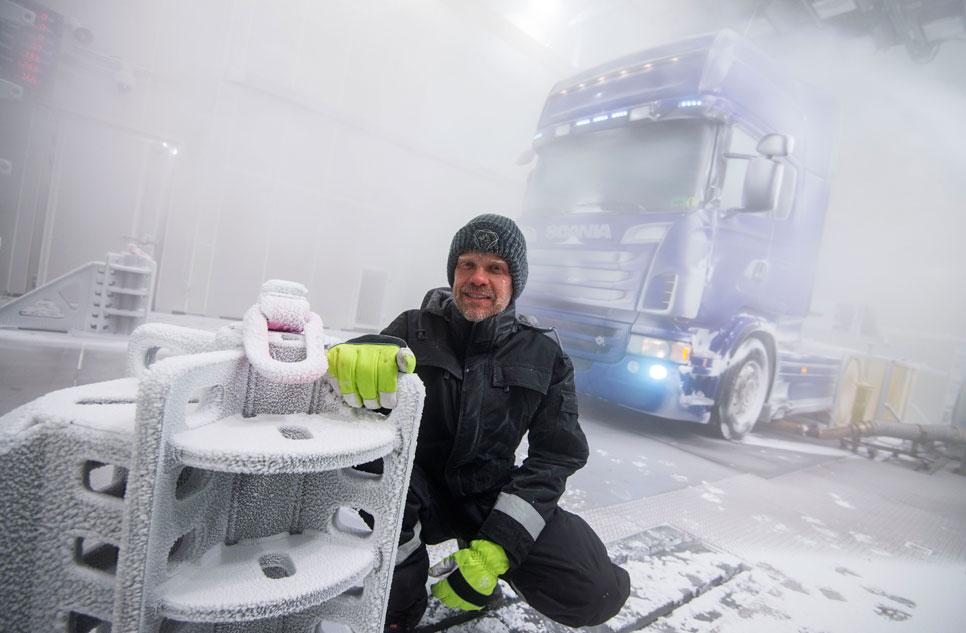 Scania estrena túnel de viento