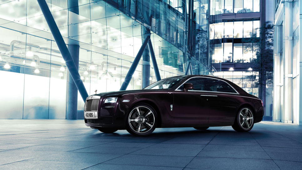 Rolls-Royce Ghost V Specification, el más potente de los Ghost