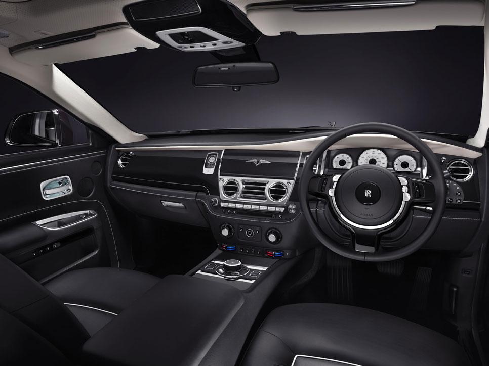 Rolls-Royce Ghost V Specification, el más potente de los Ghost