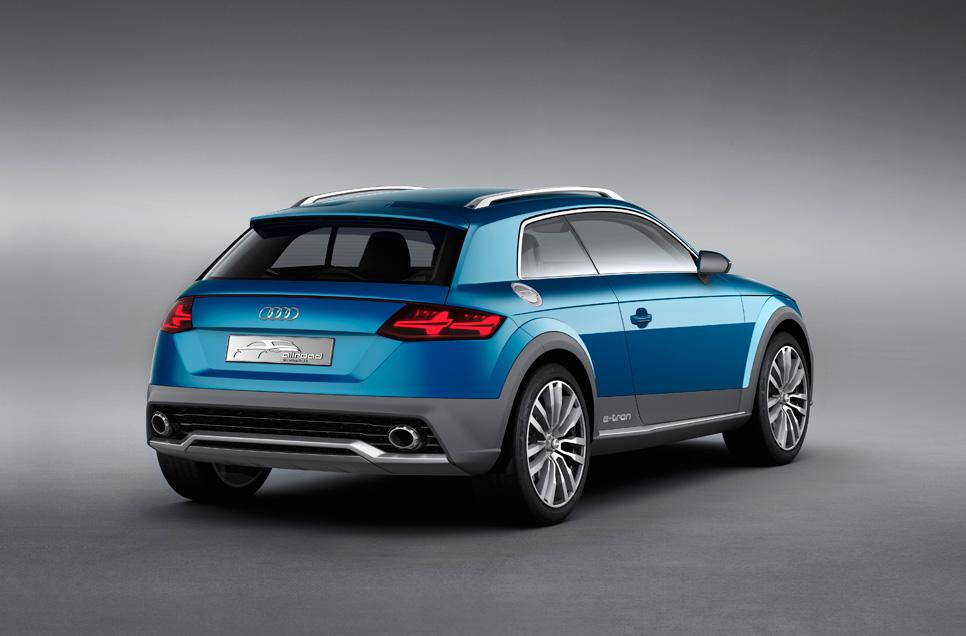 Audi Allroad Shooting Brake Show Car