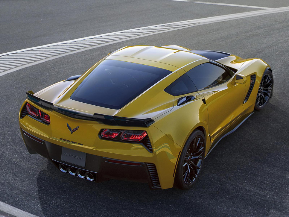 Chevrolet Corvette Stingray Z06, fuerza bruta