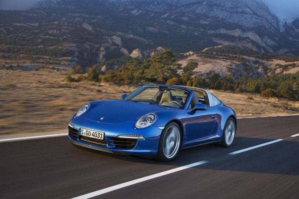 Nuevo Porsche 911 Targa