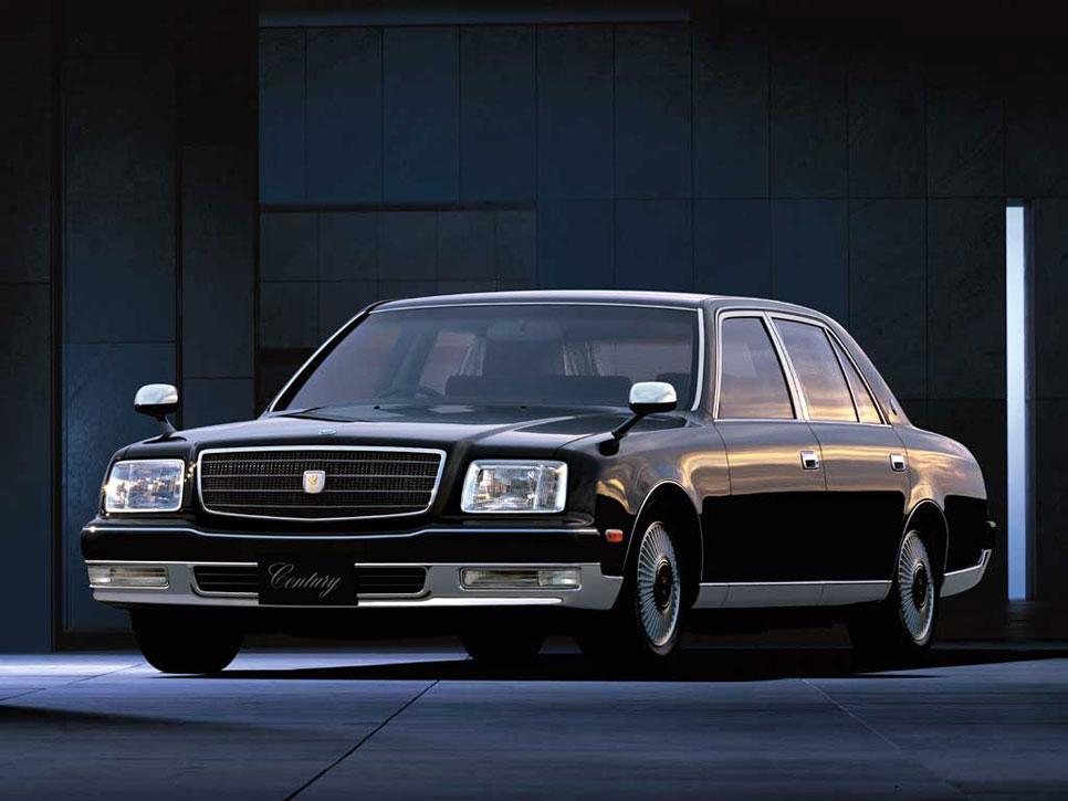 Toyota Century, el coche del Emperador