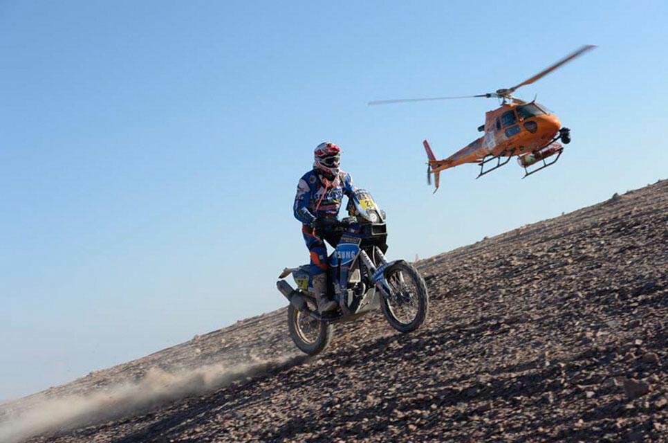 Recta final del Dakar 2014