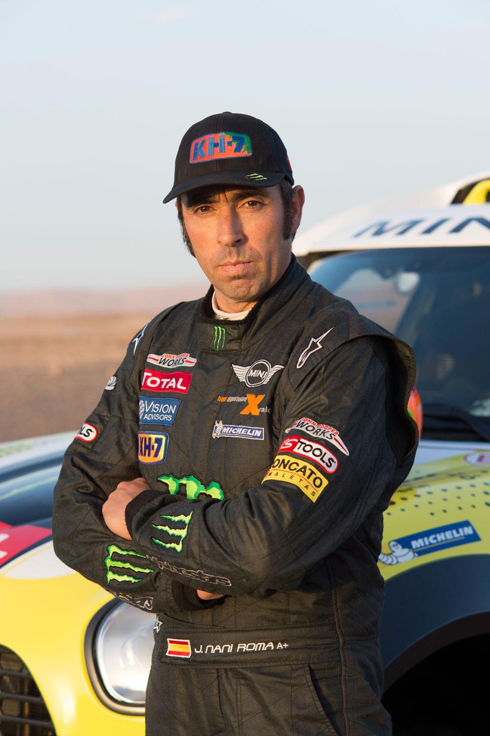 Nani Roma, piloto del equipo X-Raid Mini