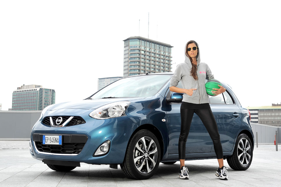 Nissan Micra Tekna Premium exterior