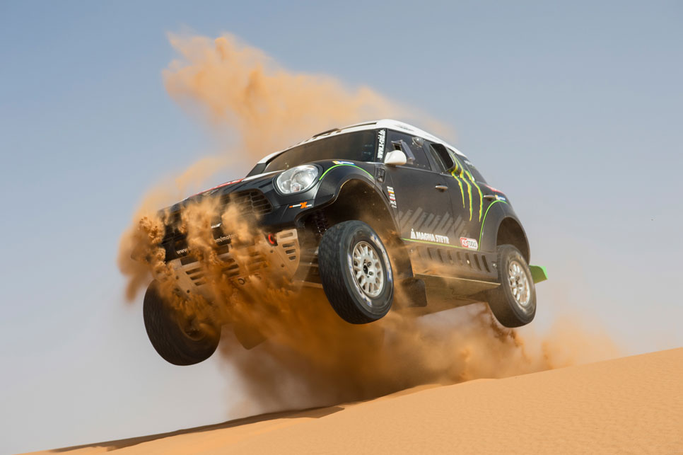 Mini  All4 Racing: destripamos el coche vencedor del Dakar 2014