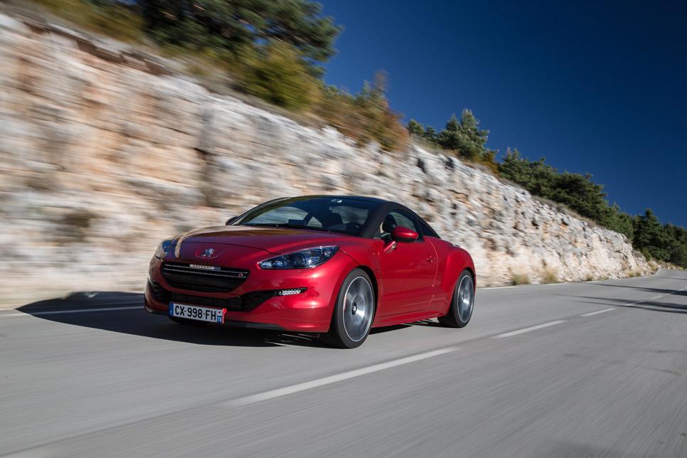 Peugeot RCZ R, desde 39.900 euros