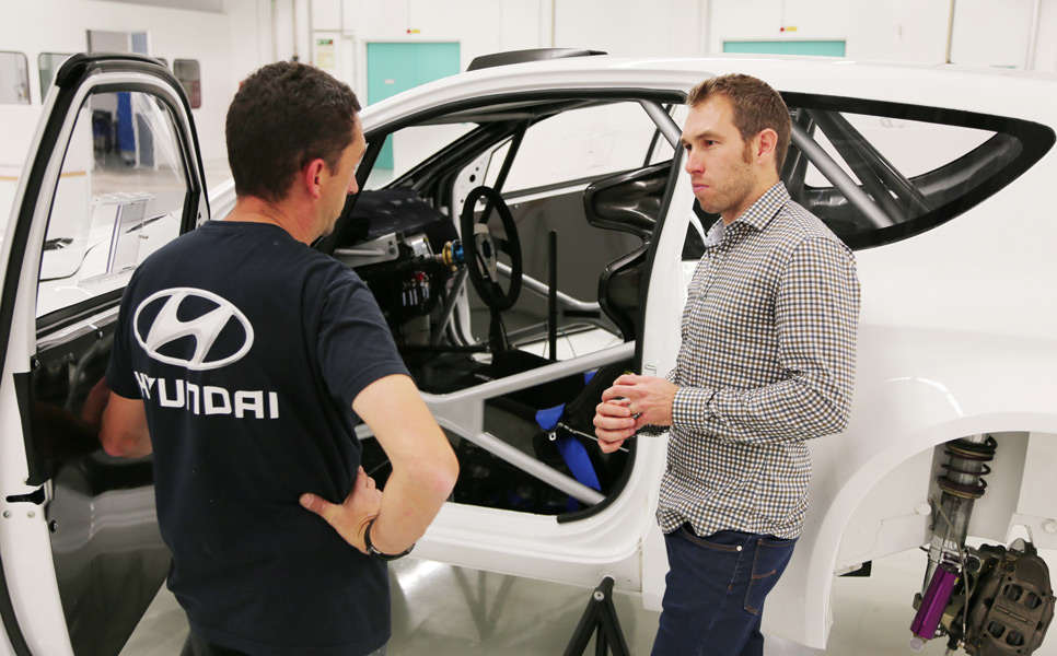 Chris Atkinson debutará con Hyundai en Mexico