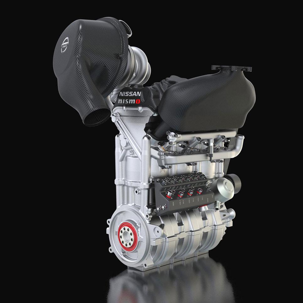 Motor de gasolina 1.5 de 400 CV para el Nissan ZEOD RC