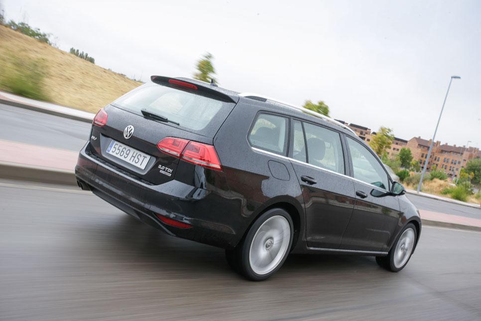 VW Golf Variant foto prueba