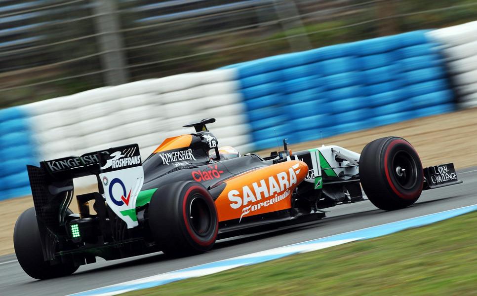 Daniel Juncadella se estrena en Force India