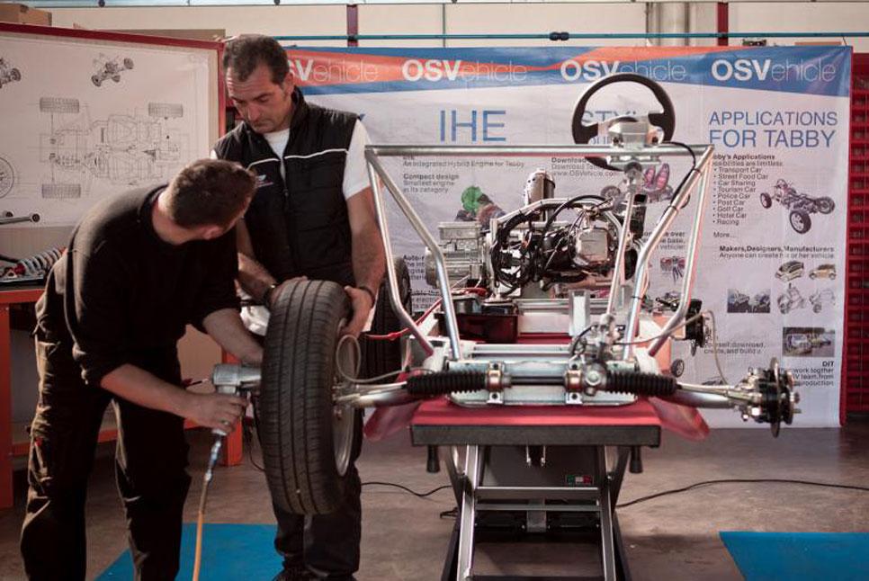 Tabby DIY, el coche que puedes montar en una hora