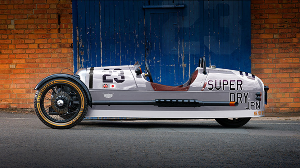 Morgan 3 Wheeler Superdry Edition