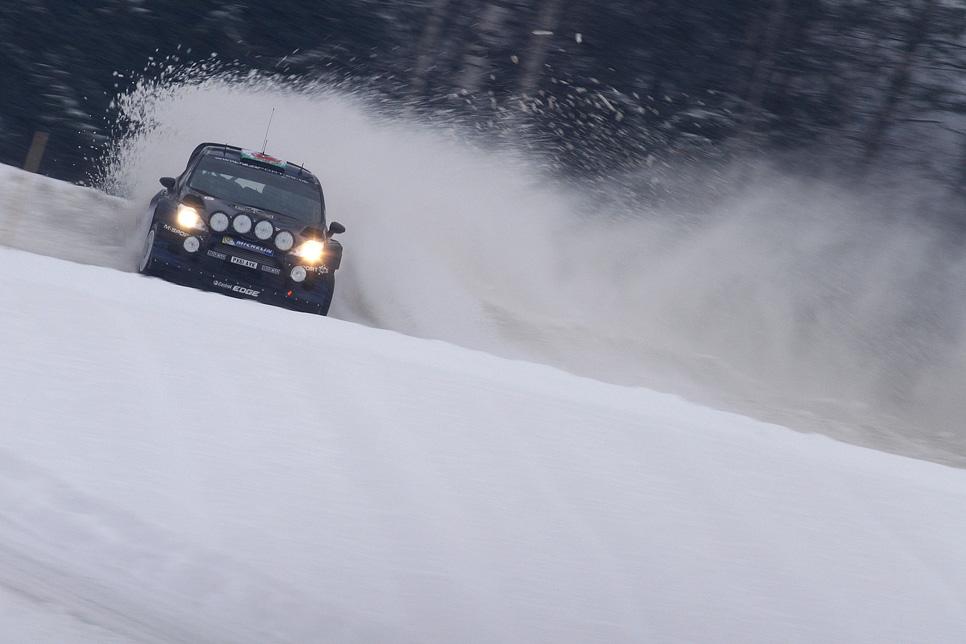 Rallye de Suecia 2014 - Viernes