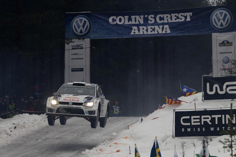 Rallye de Suecia, sábado