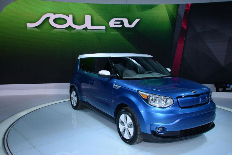 Kia Soul EV eléctrico