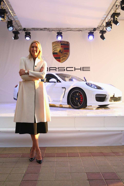Porsche Panamera GTS 'by Maria Sharapova'