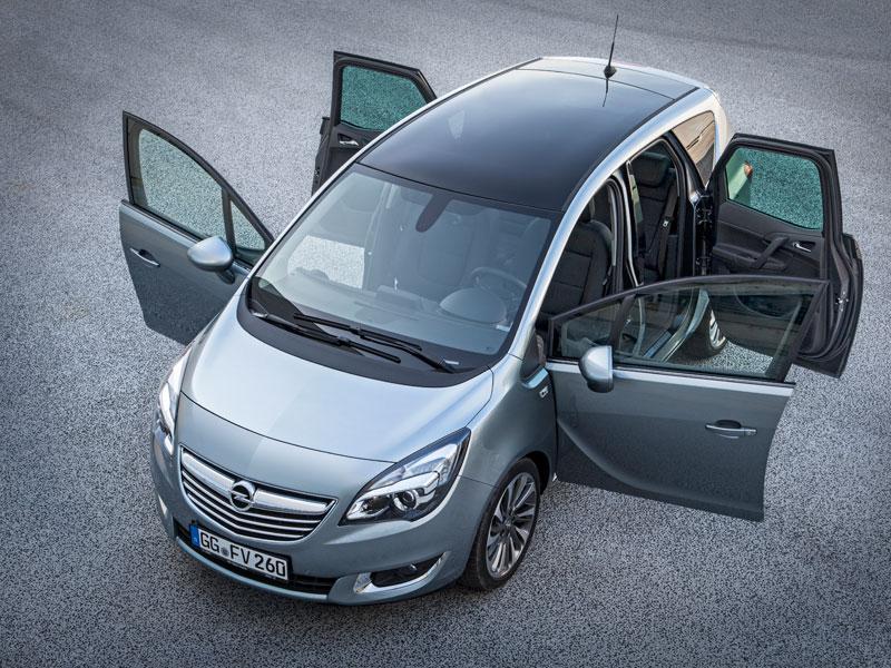 Sistema FlexDoors del Opel Meriva