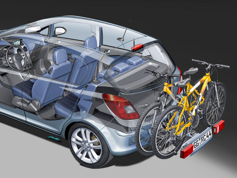 Sistema FlexFlix en el Opel Corsa