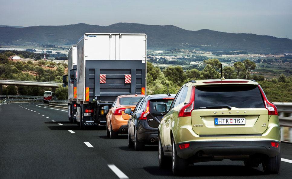 Circulación autónoma en convoy