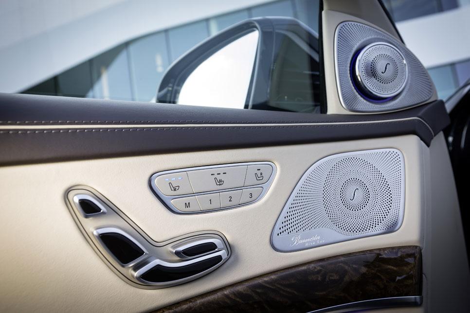 Burmester y otros: equipos de audio de alta gama para coches de lujo.