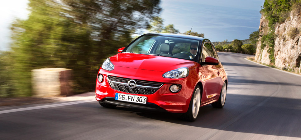 Opel Adam con el nuevo motor 1.0 ECOTEC Turbo