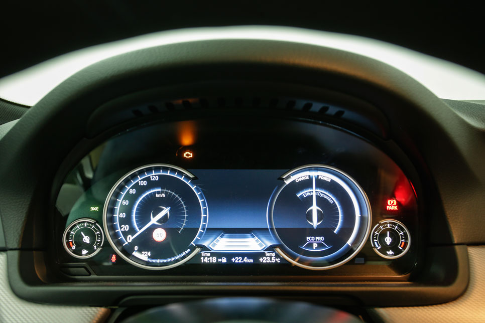BMW 535iA xDrive, a prueba