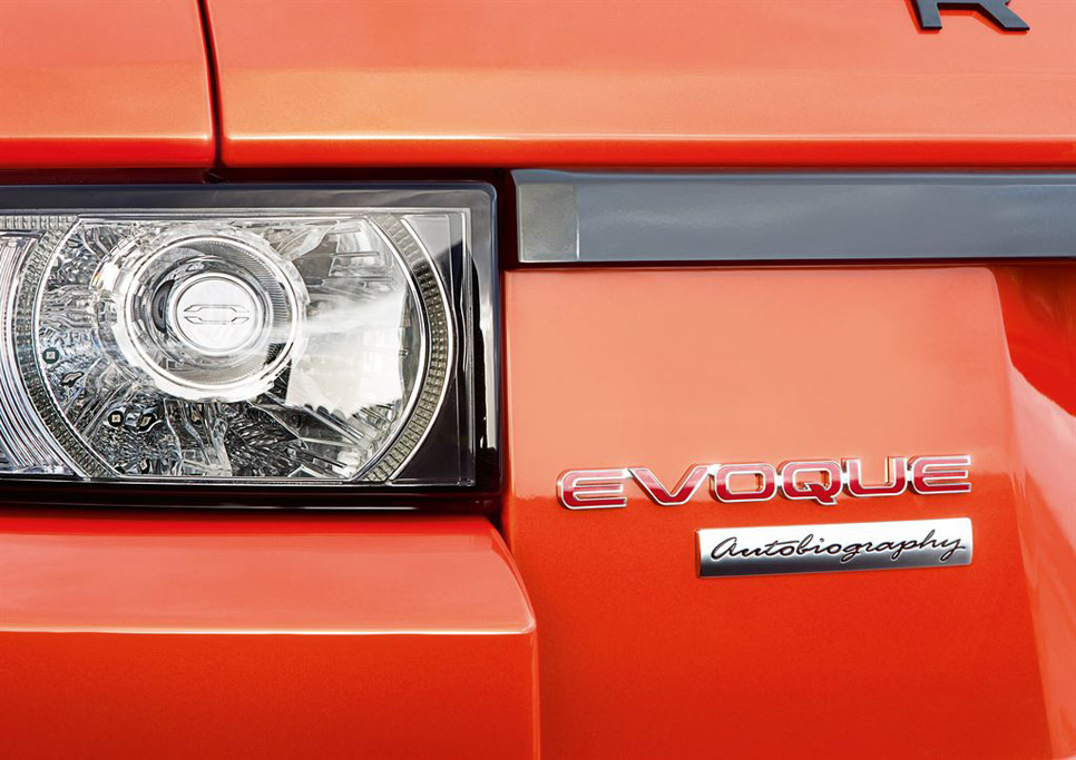 Range Rover Evoque Autobiography