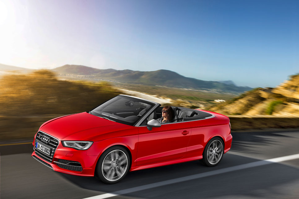 Audi S3 Cabrio, deportividad al aire libre
