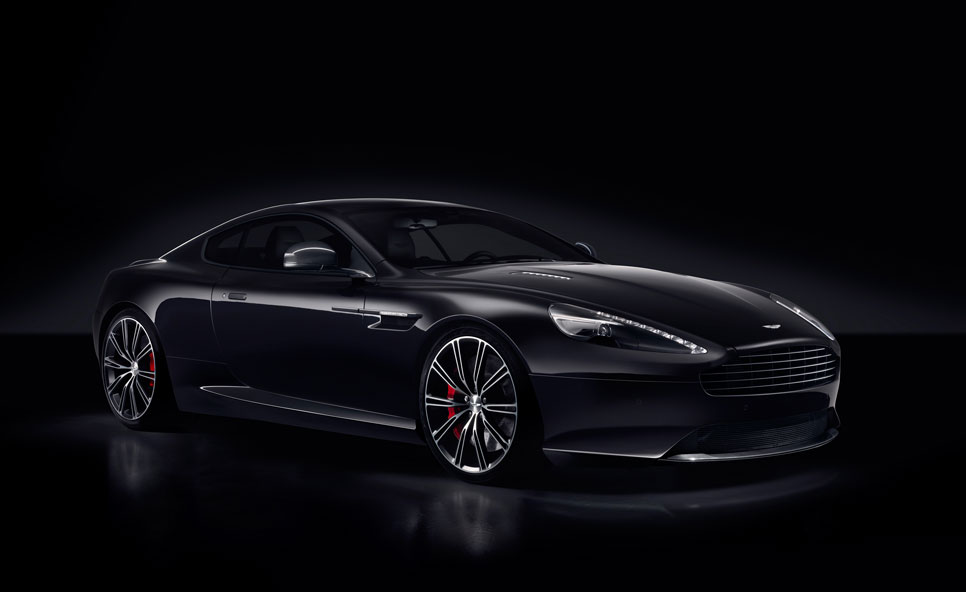 Aston Martin DB9 Carbon Black y White