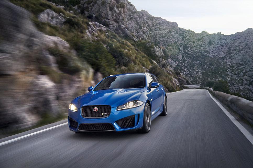 Jaguar XFR-S Sportbrake, extremo familiar