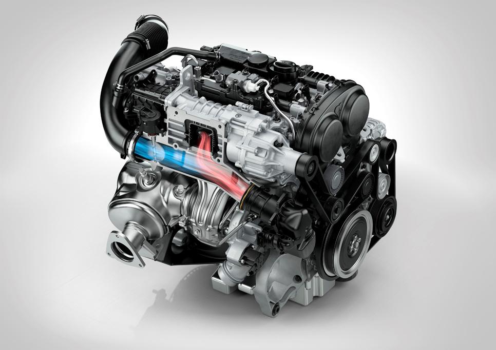 Volvo V40 D4 con motores Drive-E