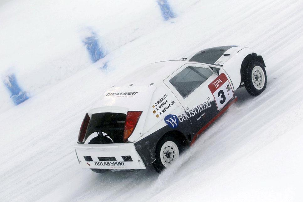 GSeries BPA: así son las carreras sobre hielo