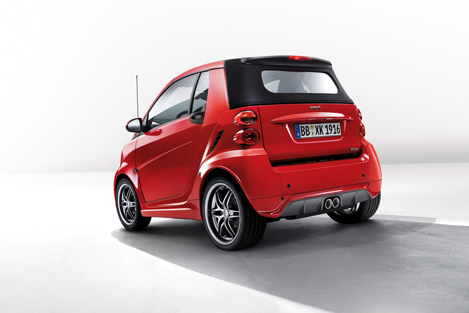 Smart ForTwo Brabus Xclusive Red Edition