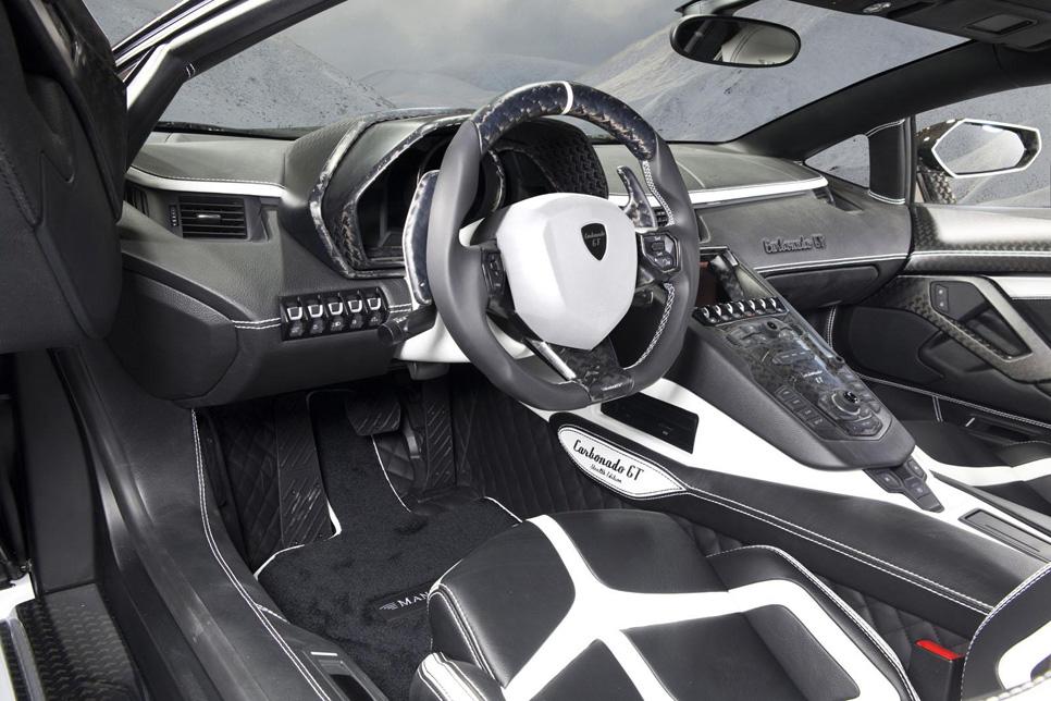 Mansory Carbonado GT, un Lambo Aventador de 1.600 CV