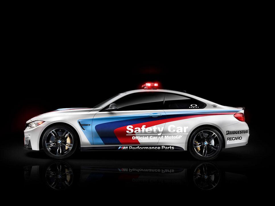 BMW M4 Coupé, 'safety car' de MotoGP