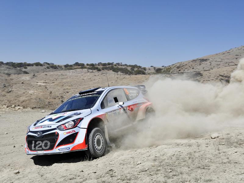 Rallye de México 2014 - Sábado