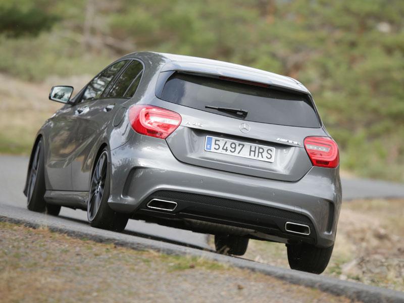 Prueba: Mercedes A 45 AMG