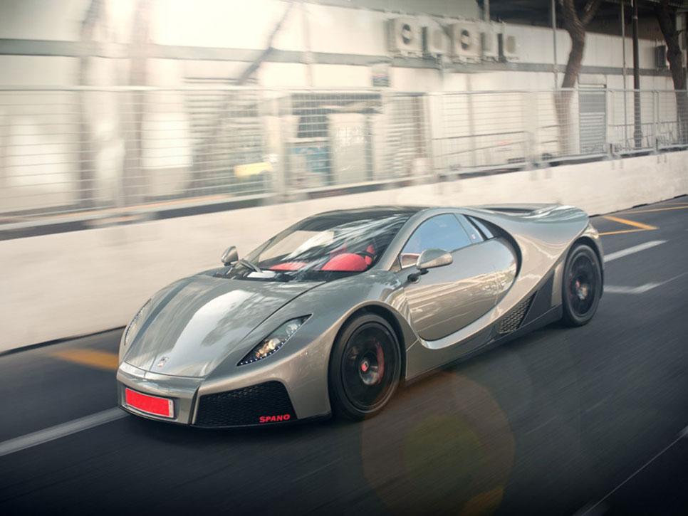 Los coches de la película 'Need For Speed'