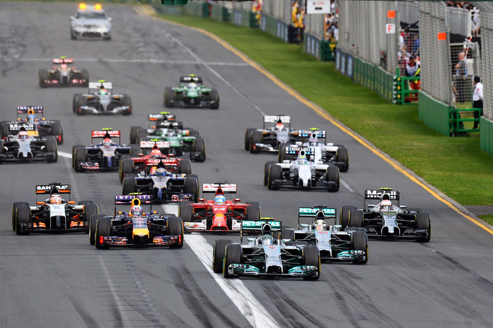 GP Australia 2014: la carrera