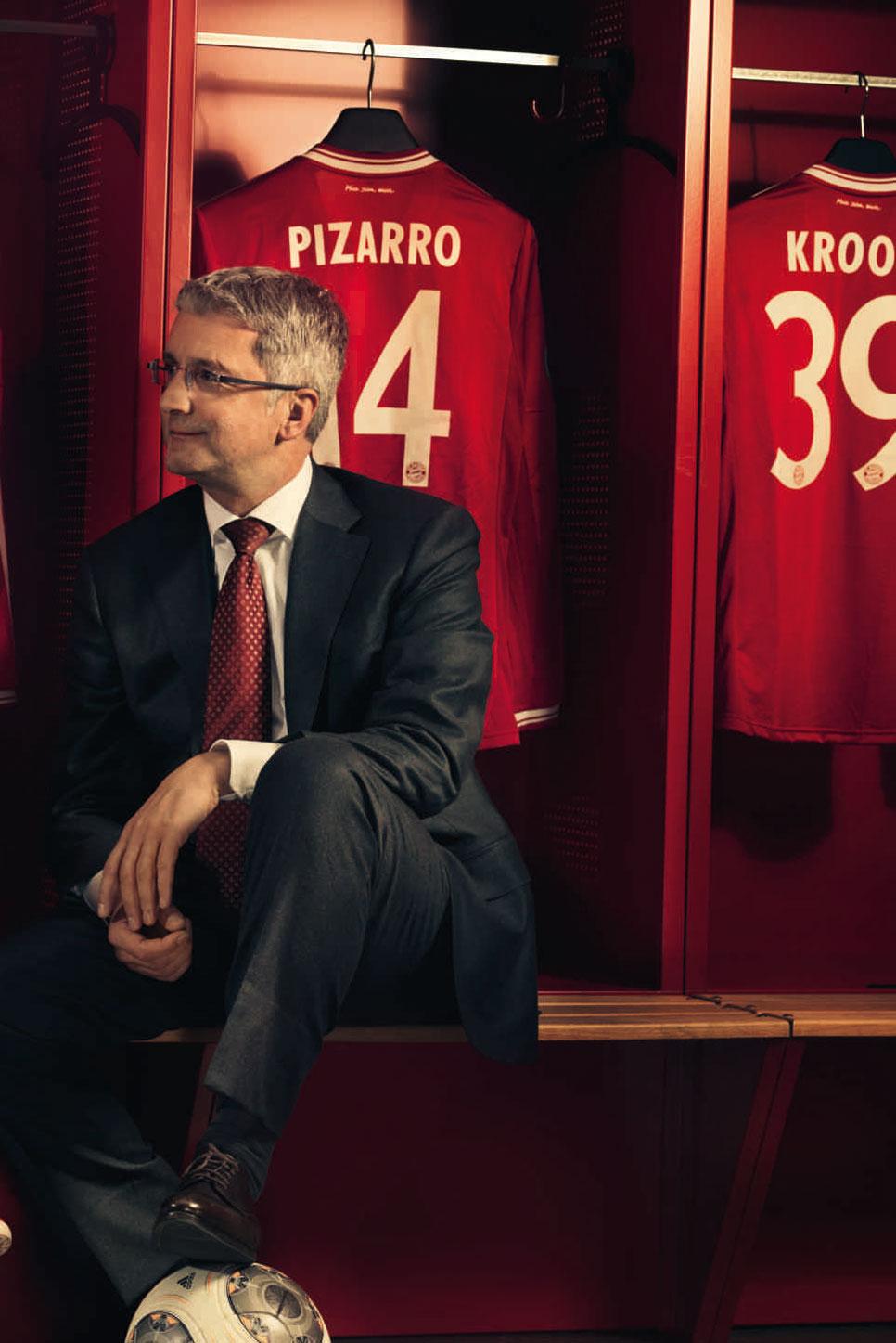 Entrevista a Pep Guardiola y Rupert Stadler: dos genios de la estrategia