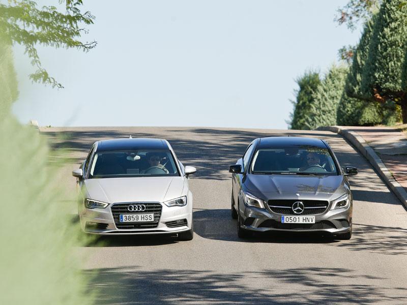 Mercedes CLA 220 CDI vs Audi A3 Sedán 2.0 TDI